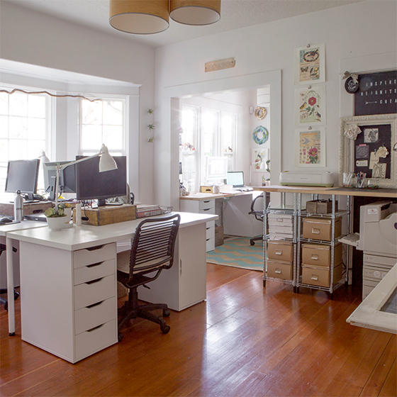 Our Diy House 2014 Home Tour: My Home Tour: The Updated Office Space + How We Use Our