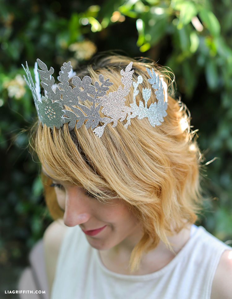 Lia Griffith | DIY Fairy Paper Crown