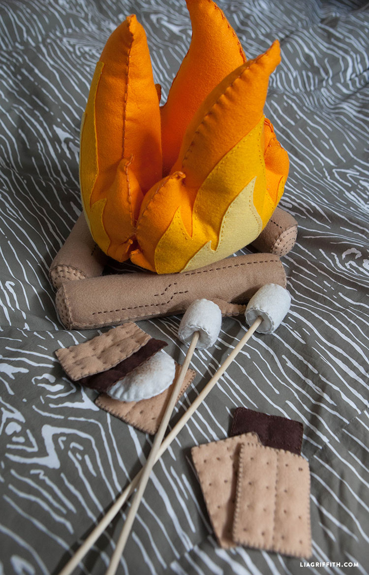 Felt Craft Campfire Lia Griffith