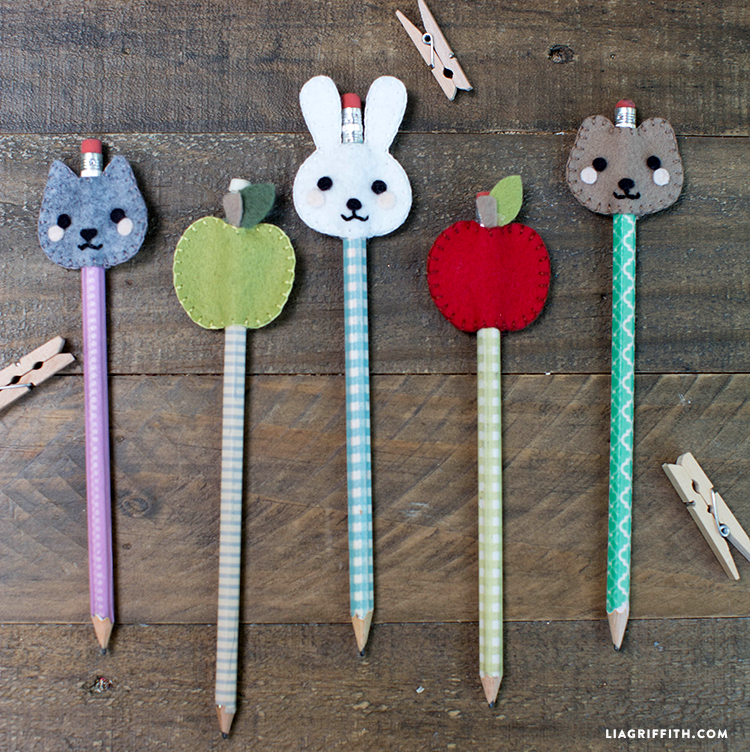 How To Make Your Own Pencil Toppers For Kids