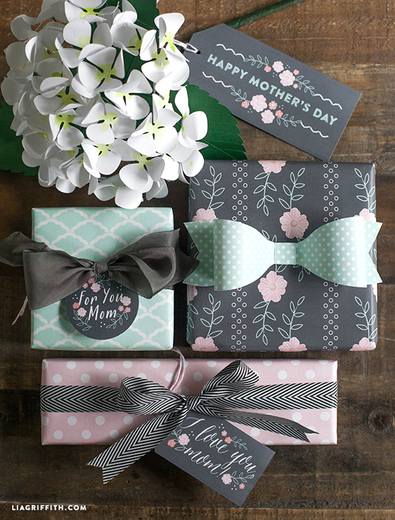 Gift Tags and Wrap for Mother's Day