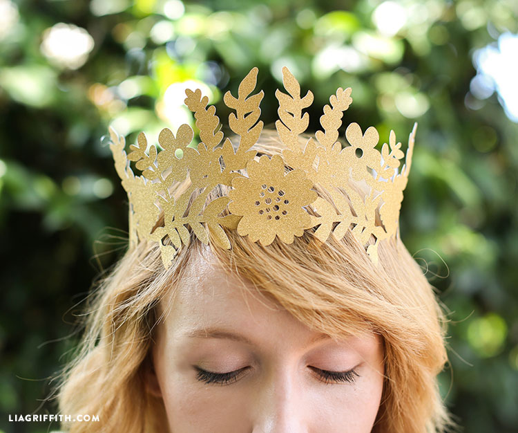 Diy Fairy Paper Crown Lia Griffith