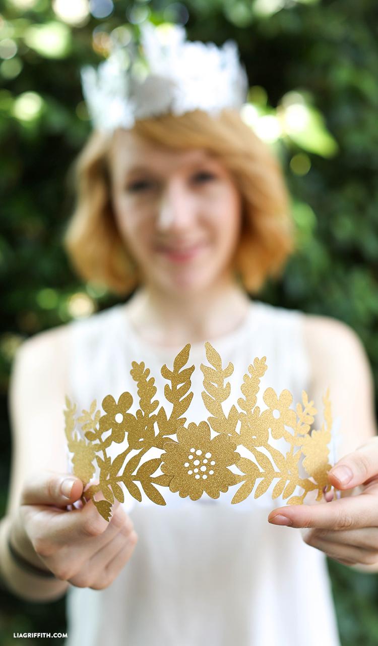 Lia Griffith Diy Fairy Paper Crown